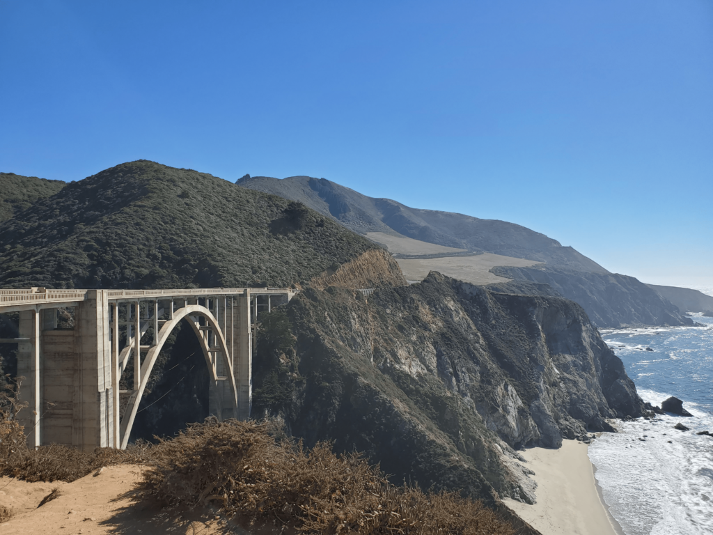Pfeiffer Canyon Bridge is a must-see in Big Sur